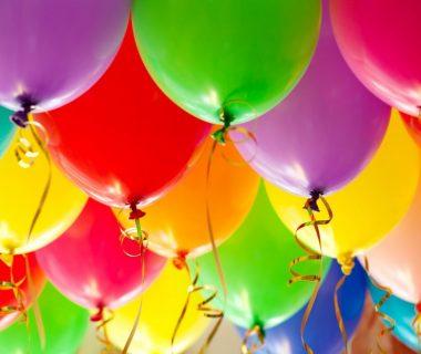 Helium-ballonnen aankleding
