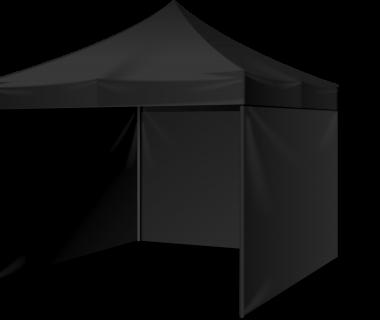 Partytent 4x4 zwart