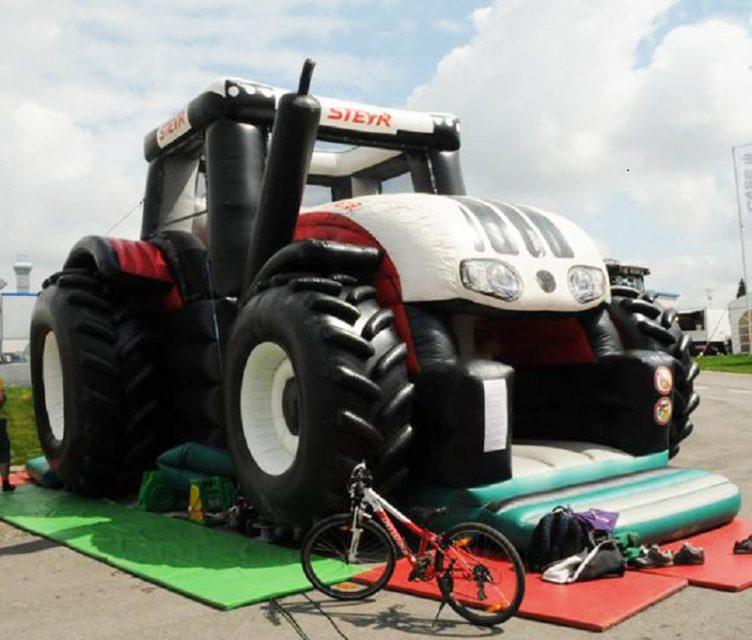 Springkussen tractor